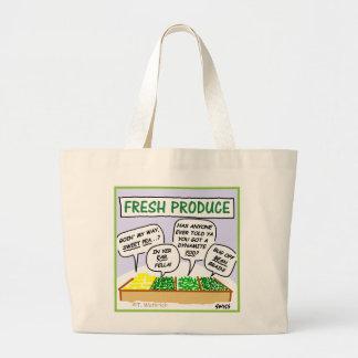 O bolsa enorme do mantimento dos desenhos animados