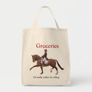O bolsa equestre do mantimento