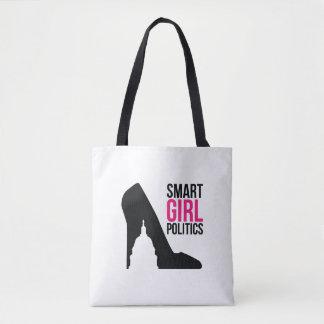 O bolsa esperto da política da menina (meio)
