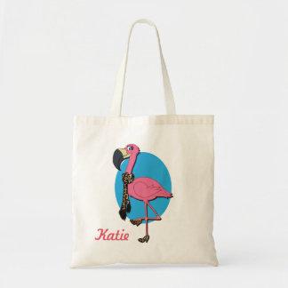 O bolsa extravagante do orçamento do flamingo