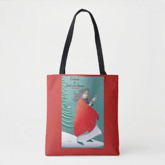 O bolsa feericamente do feriado do inverno