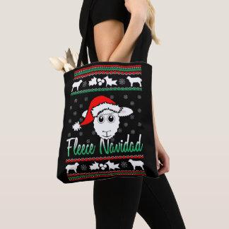 O bolsa feio da camisola do Natal de Navidad do