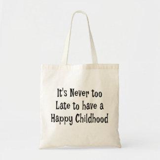 O bolsa feliz BagIt da infância está nunca