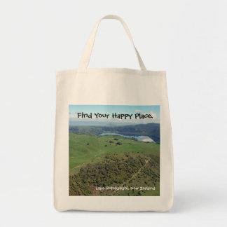 O bolsa feliz de Nova Zelândia do lugar