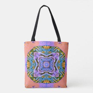 O bolsa feminino colorido do viagem do pêssego
