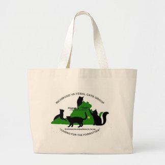 O bolsa feroz do jumbo dos gatos de RVA
