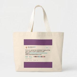 O bolsa gráfico do jumbo do Tweet da celebridade