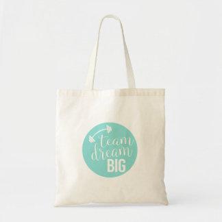 O bolsa grande ideal da equipe