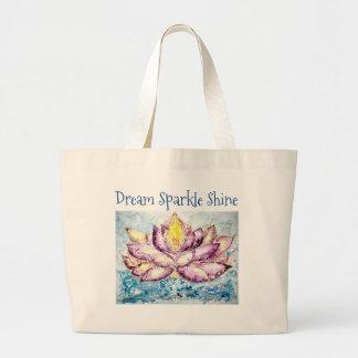 O bolsa ideal do jumbo de Lotus do brilho da
