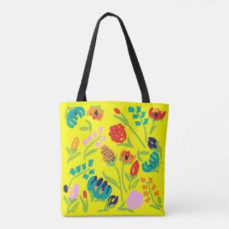 O bolsa inglês do amarelo do jardim