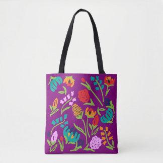 O bolsa inglês do roxo do jardim