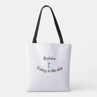 O bolsa inspirado, o bolsa com citações do