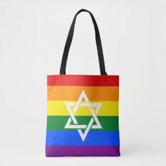 O bolsa judaico extravagante do orgulho