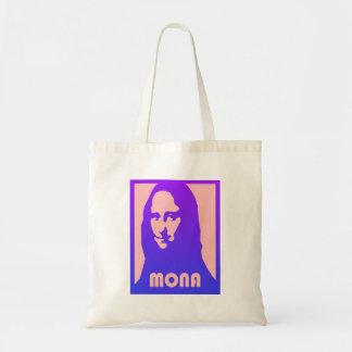 O bolsa lindo da cópia de Mona Lisa do estilo do p