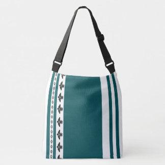 O bolsa listrado da mala a tiracolo do Navajo de