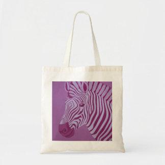 O bolsa magenta da zebra