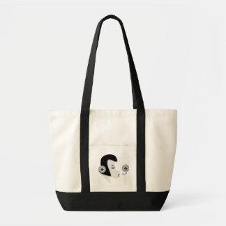 """O bolsa """"menina com flor """""""