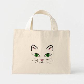 O bolsa minúsculo - cara do gatinho