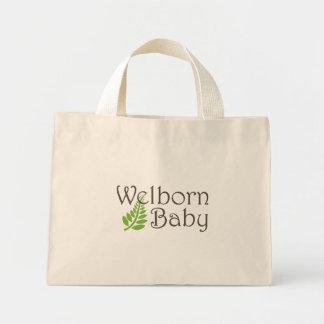 O bolsa minúsculo do bebê de Welborn