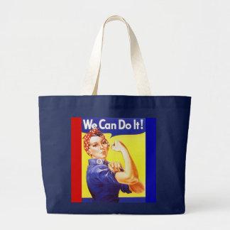 """O bolsa """"nós podemos fazê-lo!"""" Slogan Rosie o"""