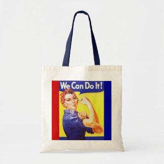 "O bolsa ""nós podemos fazê-lo!"" Slogan Rosie o rebi"