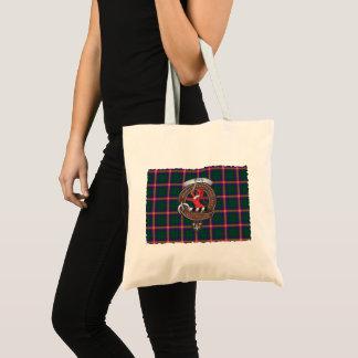 O bolsa novo do Tartan do crachá do clã