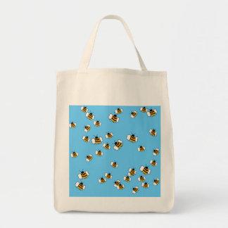 O bolsa orgânico do mantimento da abelha ocupada