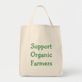O bolsa orgânico dos fazendeiros do apoio