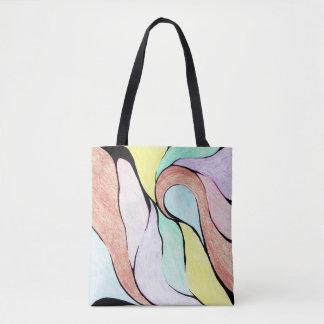 O bolsa (Pastel) da torção da cor