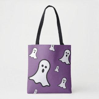 O bolsa pequeno do Dia das Bruxas dos fantasmas