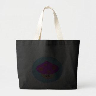 O bolsa pequeno feliz do jumbo do cogumelo
