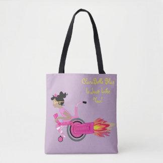 O bolsa perfeito azul de ClaraBelle - sonhos da