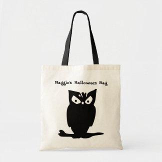 O bolsa personalizado coruja do Dia das Bruxas
