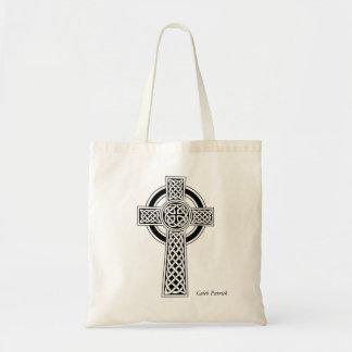 O bolsa personalizado da cruz celta