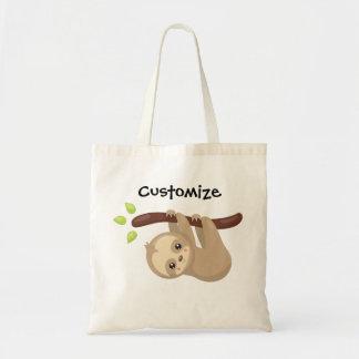O bolsa personalizado da preguiça
