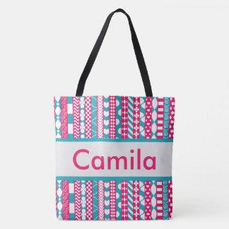 O bolsa personalizado de Camila