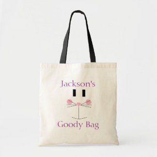 O bolsa personalizado do coelhinho da Páscoa
