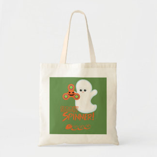 O bolsa personalizado do Dia das Bruxas do girador