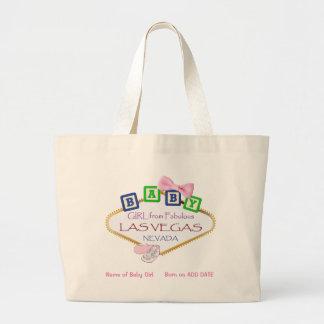 O bolsa personalizado do jumbo do bebé de Las