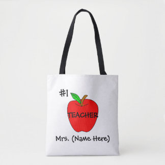 O bolsa personalizado do professor #1