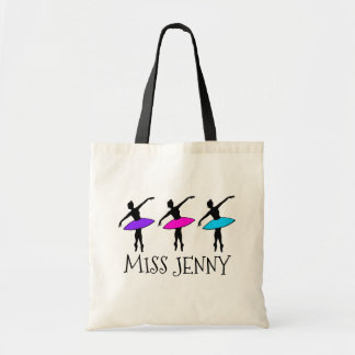 O bolsa personalizado do professor da dança do