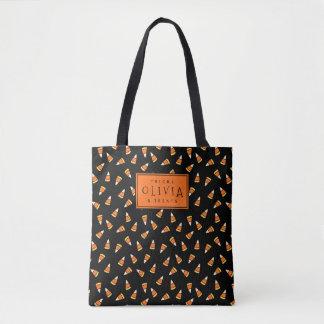 O bolsa personalizado dos doces do Dia das Bruxas