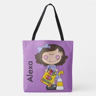 O bolsa personalizado pastel de Alexa