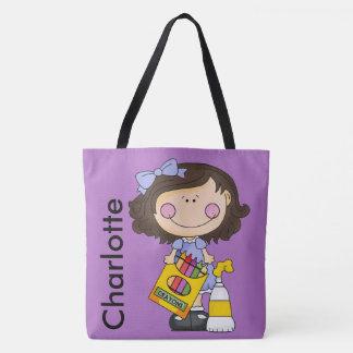 O bolsa personalizado pastel de Charlotte