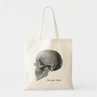 O bolsa pobre do livro de Yorick do crânio de