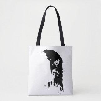 O bolsa preto & branco da águia americana