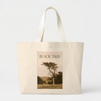 O bolsa preto do jumbo da árvore