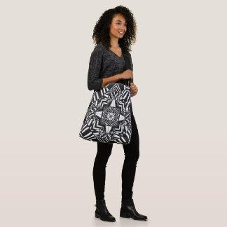 O bolsa preto e branco da ilusão óptica