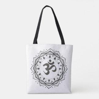 O bolsa preto e branco da mandala