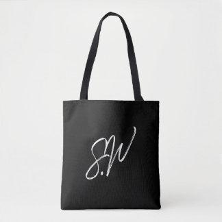 O bolsa preto simples de Wei